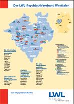 Karte: LWL-PsychiatrieVerbund Westfalen