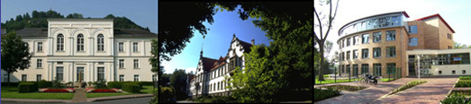 Das Foto zeigt drei Einrichtungen aus dem Bereich der Erwachsenenpsychiatrie.