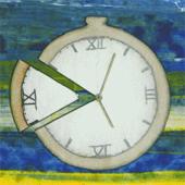 Das Foto zeigt eine Uhr.