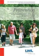 Das Foto zeigt das Titelbild der Broschüre ''Prävention''.