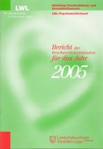Das Foto zeigt das Titelbild des Berichtes der Beschwerdekommission für das Jahr 2005.