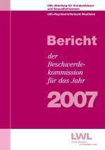 Das Foto zeigt das Titelbild des Berichtes der Beschwerdekommission für das Jahr 2007.