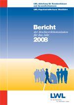 Das Foto zeigt das Titelbild des Berichtes der Beschwerdekommission für das Jahr 2008