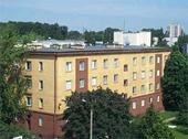 Das Foto zeigt ein Krankenhaus in Polen.