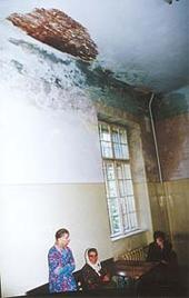 Das Foto zeigt einen Innenraum eines Krankenhauses.