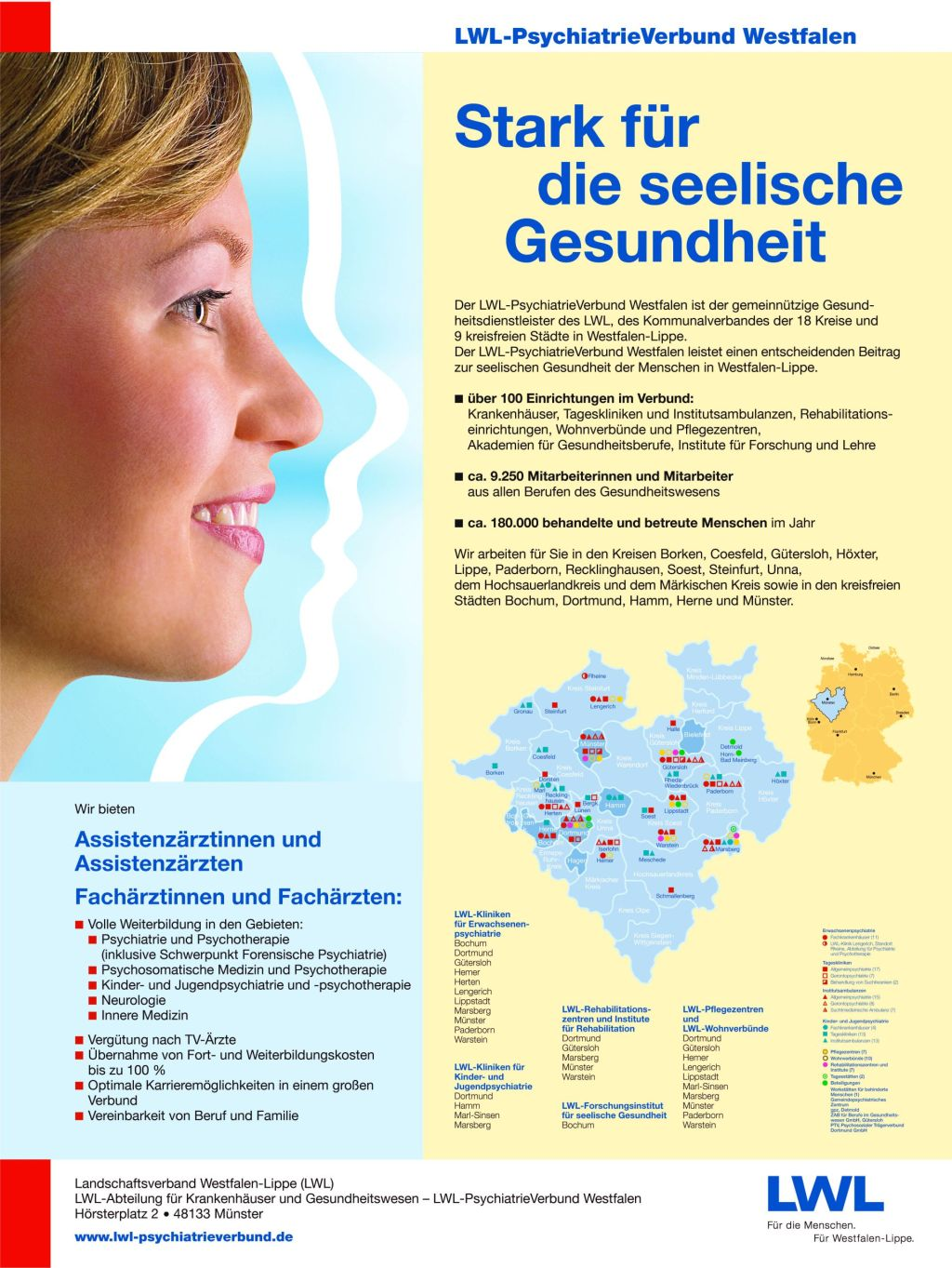 Imageanzeige des LWL-PsychiatrieVerbunds Westfalen