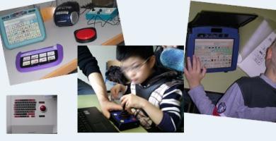 Hilfsmittel der unterstützten Kommunikation und assistiven Technologie