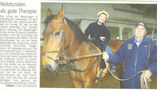 Westfalenblatt 12.05.2005