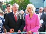 Frau Barbara Sommer, sowie der neue Landesdirektor des Landschaftsverbandes Westfalen-Lippe, Herr Dr. Kirsch