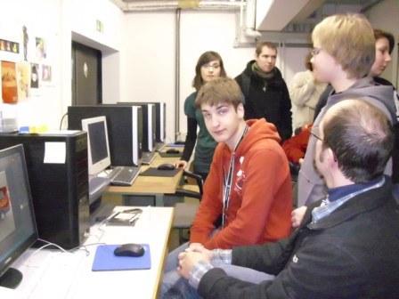 Homepage-AG erarbeitet mit der Jugendkunstschule einen Videobeitrag für das Theaterprojekt