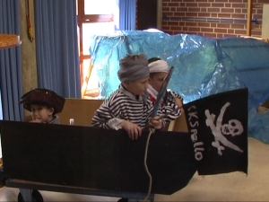 Weitere Fotos von den Piraten