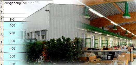 Eine Werkstatt für behinderte Menschen