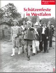 Buchumschlag: Schützenfeste in Westfalen