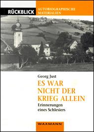 Buchumschlag: Es war nicht der Krieg allein