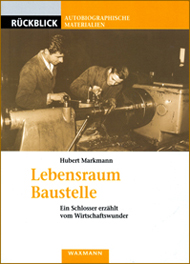 Buchumschlag Markmann: Lebensraum Baustelle