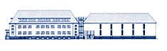 Zeichnung des Archivamts mit Text: LWL-Archivamt für Westfalen