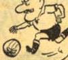'Sommernachtsträume', Karikatur über Deutschland im 'Fußballfieber', Zeitungsartikel aus: Ruhrnachrichten vom 06.07.1954  (Ausschnitt)