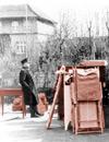 Zollbeamter mit Umzugsgut einer jüdischen Familie, Bielefeld 1936 (Ausschnitt) / Bielefeld, Stadtarchiv, Fotosammlung