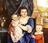 Pauline mit ihren Kindern  (Ausschnitt)