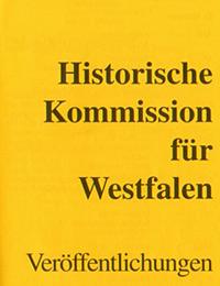 Publikationsprogramm der Historischen Kommission für Westfalen (Ausschnitt)