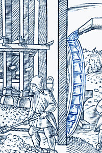 Georg Agricola, De re metallica, Libri XII [...] 156, S. 223 (bearb. Vorlage)