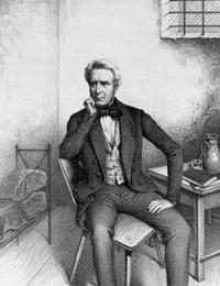 Benedikt Waldeck (1802-1870) im Kerker, 1849 / Münster, LWL-Landesmuseum für Kunst und Kulturgeschichte, K 28-31 LM