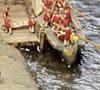 Römerschiff an der 'Hofestatt', Haltern am See / Foto: LWL-Römermuseum Haltern
