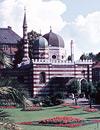 Elefantenhaus im alten Zoologischen Garten Münster, um 1959 (Ausschnitt) / Foto: Münster, Westfälisches Landesmedienzentrum, 10_2314