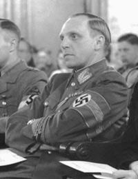 Albert Hoffmann, Gauleiter von Westfalen-Süd, 23.06.1944 / Foto: Lippstadt, Stadtarchiv/W. Nies, 3141g79