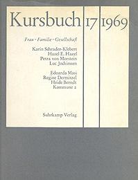 Cover 'Kursbuch 17, 1969' (Ausschnitt)