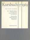 Cover 'Kursbuch 17, 1969' (Ausschnit)