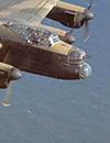 Kanzel einer Lancaster der Royal Air Force, Zweiter Weltkrieg (Ausschnitt) / Foto: Hagen, Historisches Centrum