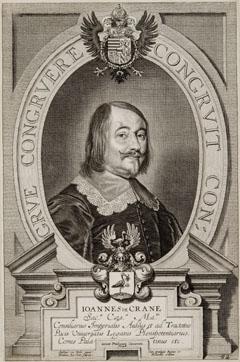 Porträt des Johann Krane (um 1600 - vermutlich Wien 1672), kaiserlicher Gesandter in Osnabrück, 1643-[1648]