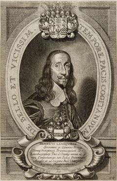 Porträt des Heinrich Langenbeck (Hamburg 04.05.1603 - Celle 28.10.1669), Prinzipalkommissar des Hauses Braunschweig-Lüneburg in Osnabrück, ab 1643