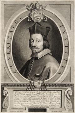 Porträt des Fabio Chigi (Siena 13.02.1599 - Rom 22.05.1667), päpstlicher Nuntius in Münster, 1644-1649