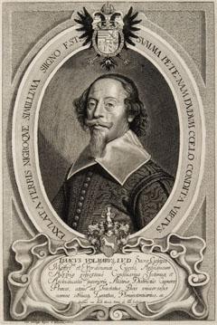 Porträt des Isaac Volmar (Streußlingen 1582 - Regensburg 13.10.1662), Kaiserlicher Hauptgesandter, Nachfolger Trauttmansdorffs in Münster, 1643-1649