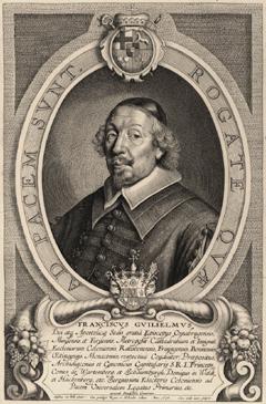 Porträt des Franz Wilhelm von Wartenberg (München 01.03.1593 - Regensburg 01.12.1661), Kurkölnischer Hauptgesandter in Münster und Osnabrück, ab 1643