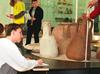 Schulklasse im Römermuseum Haltern