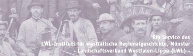 Bergleute der Zeche Hannover I-II, Revier VIII, in Bochum-Hordel, 1899 (Ausschnitt) / Foto: Bochum, Montanhistorisches Dokumentationszentrum