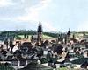 Prag, historische Ansicht (Ausschnitt) / Münster, LWL-Medienzentrum für Westfalen/Karl Franz Klose, 04_3332