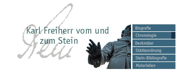 Stein-Denkmal in Berlin / Foto, Bearbeitung: M. Weidner, Münster