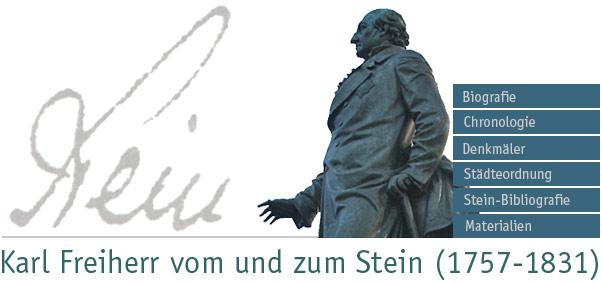 Stein-Denkmal in Berlin / Foto, Bearbeitung: M. Weidner, Münster / Oktober 2007
