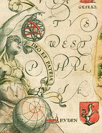 Ausschnitt aus der Karte des Hochstifts Paderborn von Johannes Gigas, 1620
