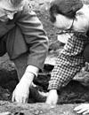 Erweiterte Suche im Internet-Portal 'Westfälische Geschichte' / Ausgrabung eines spätkarolingischen Prinzipalhofes auf Hof Meyering, Raesfeld, 1951 (Ausschnitt) / Foto: Ignaz Böckenhoff, LWL-Medienzentrum für Westfalen, 06_149