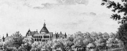 Schloss Anholt, 1840