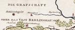 Vest Recklinghausen, 1791 (Kartenausschnitt)