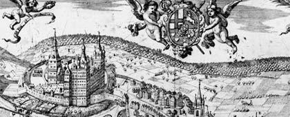 Schloss Arnsberg (Ausschnitt), 1669