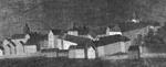Ansicht von Berleburg (Ausschnitt), vor 1736