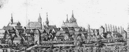 Burgsteinfurt (Ausschnitt), 1823