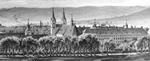 Schloss Corvey (Ausschnitt), 1860